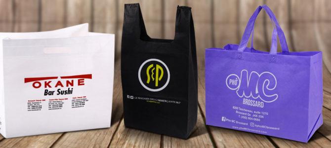 Promouvoir sa marque tout en préservant l'environnement avec un sac réutilisable